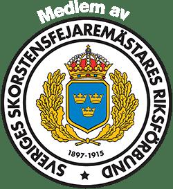Sveriges Skorstensfejaremästares riksförbunds logotyp